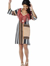 TESSA KOOPS RIHANNA CUBA FRINGES DRESS