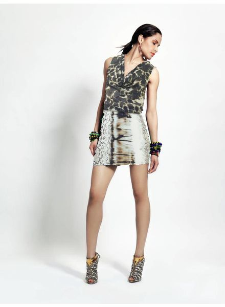 TESSA KOOPS SHAREN SNAKE TIE DYE DRESS