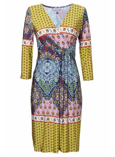 TESSA KOOPS JACKY SICILY BLUE DRESS