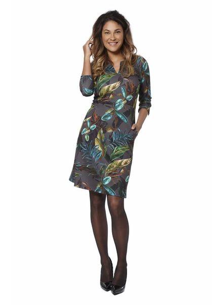 TESSA KOOPS ADELE OLIVE DRESS