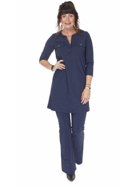 TESSA KOOPS FLARE BLUE PANTS