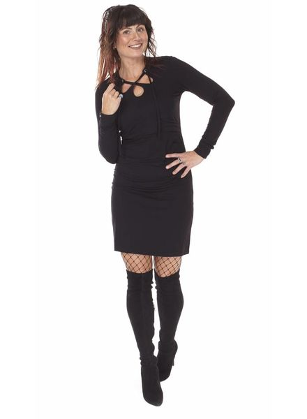 TESSA KOOPS CARLY NERO DRESS