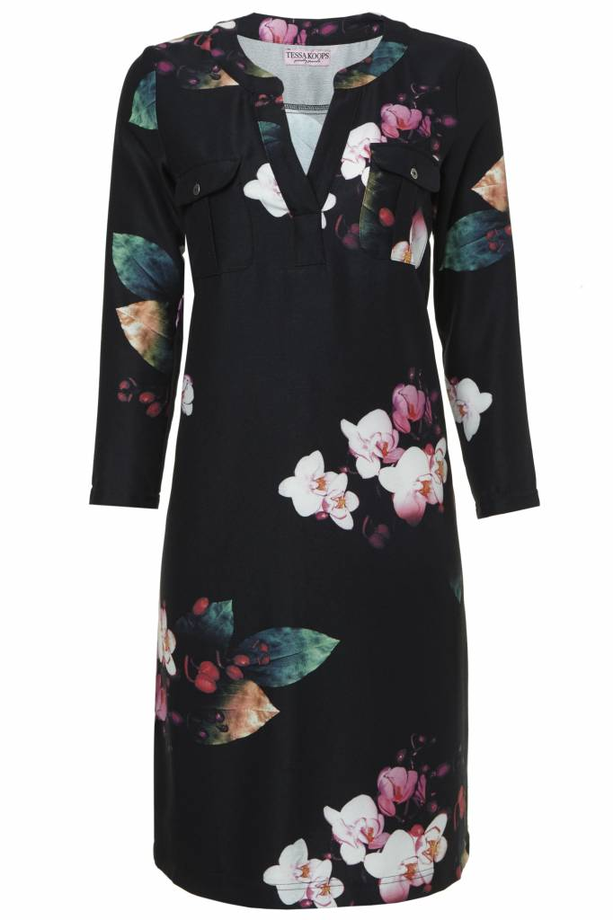 TESSA KOOPS KYRA ORCHID DRESS