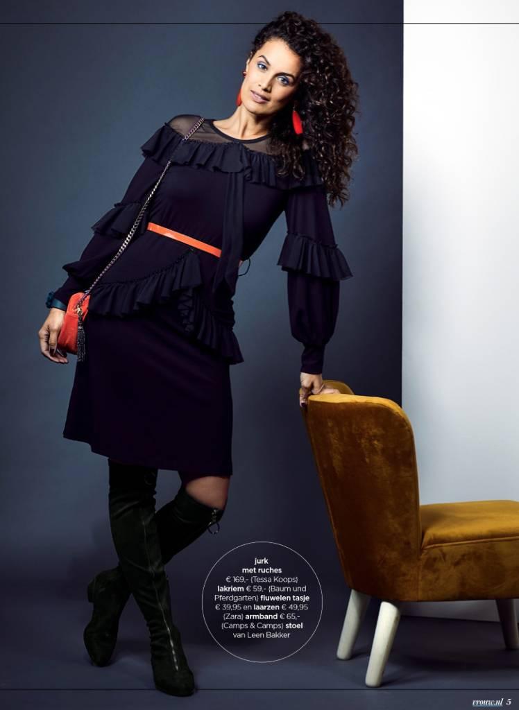 TESSA KOOPS LILY NERO DRESS