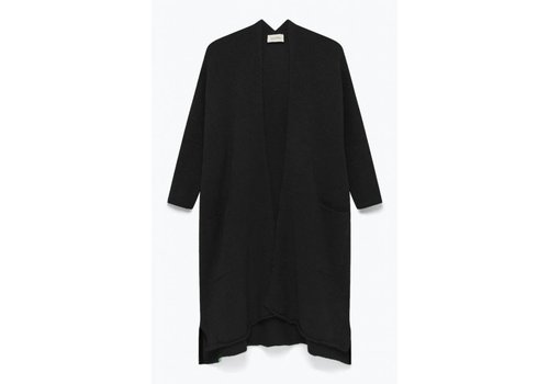American Vintage Vacaville Knitted Cardigan Noir Black