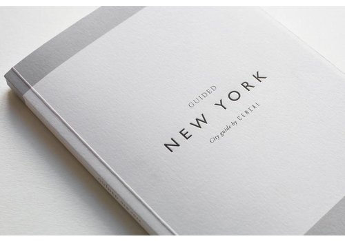 Cereal Magazine City Guide New York