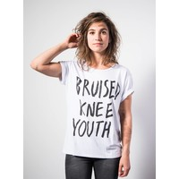 Womens Bruised Knee Youth White