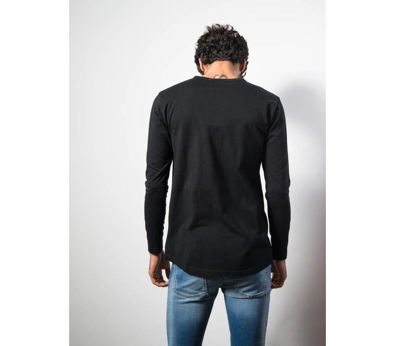 Henley LS Black