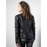 Ryder Jacket Women Black Leather