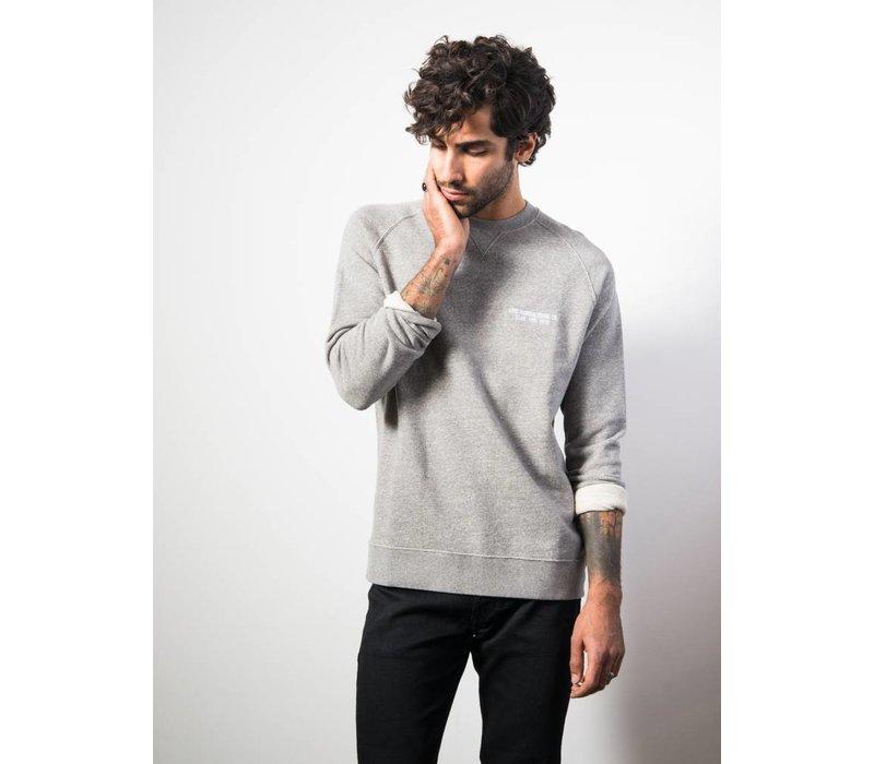 William Sweater Grey Melange