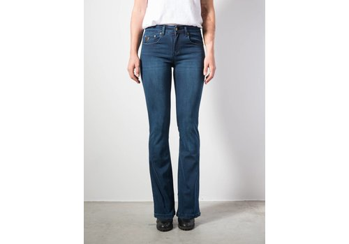 Lois Jeans Melrose Flare High Rise Kilian Blue L 32