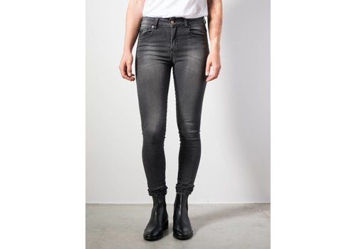 Lois Jeans Cordoba High Rise Skinny Dark Grey L 32