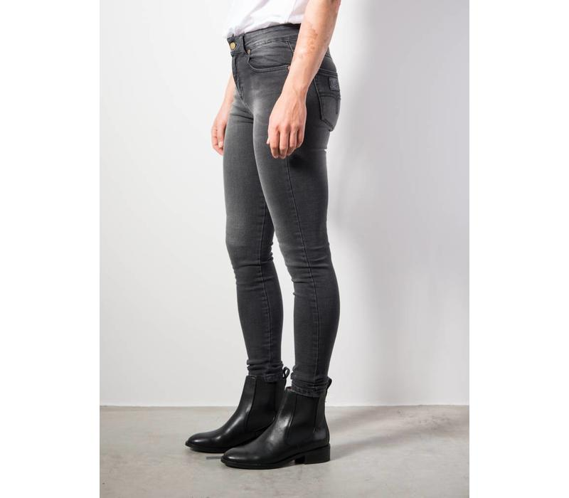 Cordoba High Rise Skinny Mono Khol Dark Grey L 32