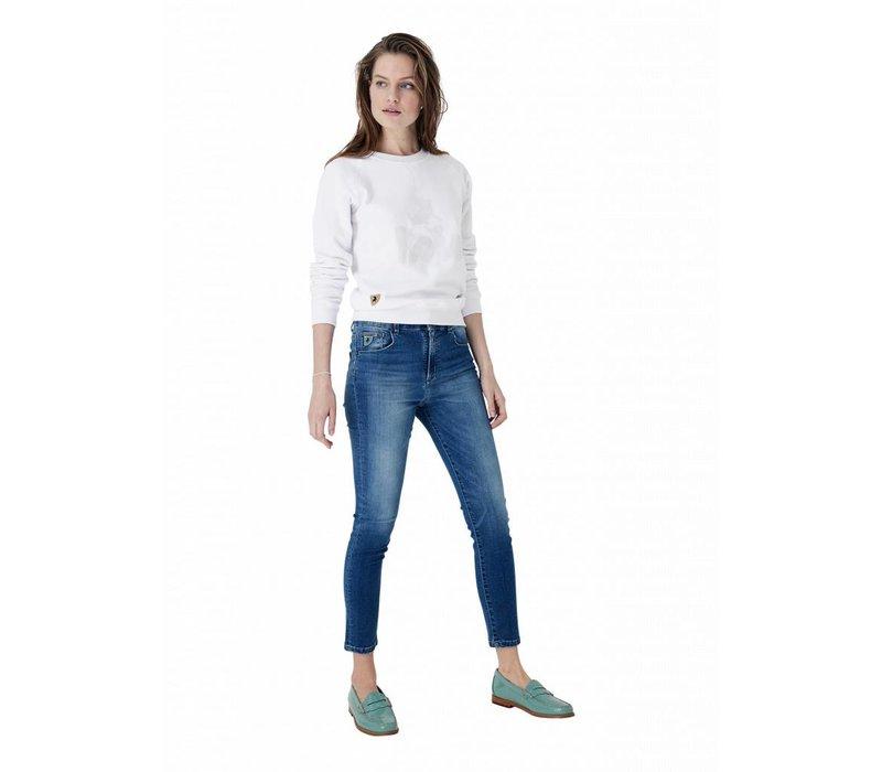 Lois Sweater Crispy White