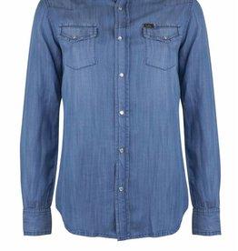 Lois Jeans Laura Denim Shirt Hydron Stone Blue