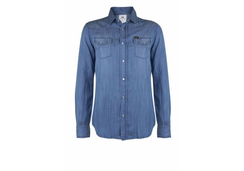 Lois Jeans Laura Denim Shirt Hydron Stone Blue
