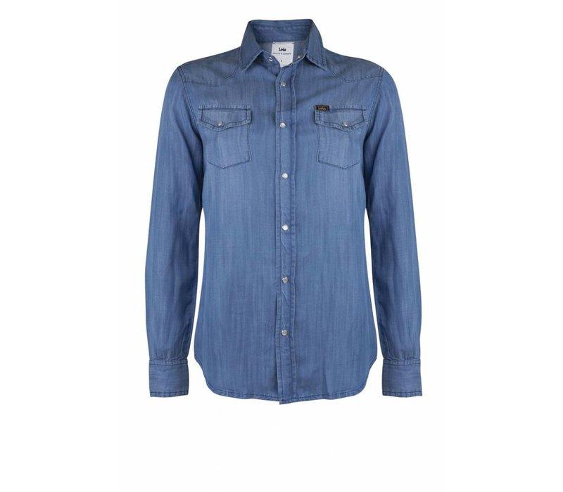 Laura Denim Shirt Hydron Stone Blue