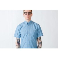 Anton Japan Light Blue Nep S -Shirt