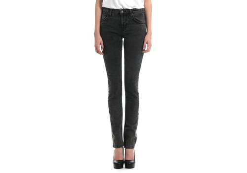 Deadwood Womens Dash Black Organic Stoner Slim Jeans