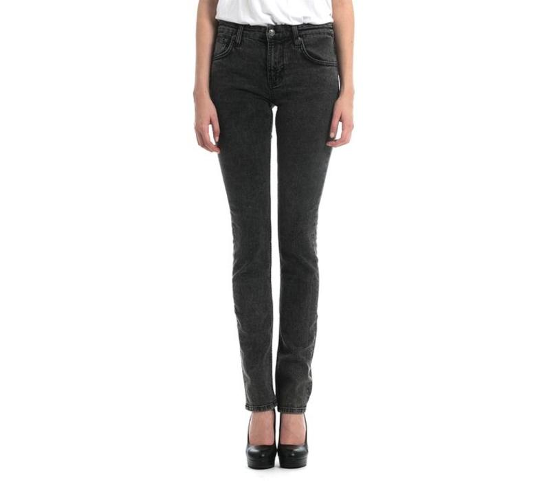 Womens Dash Black Organic Stoner Slim Jeans