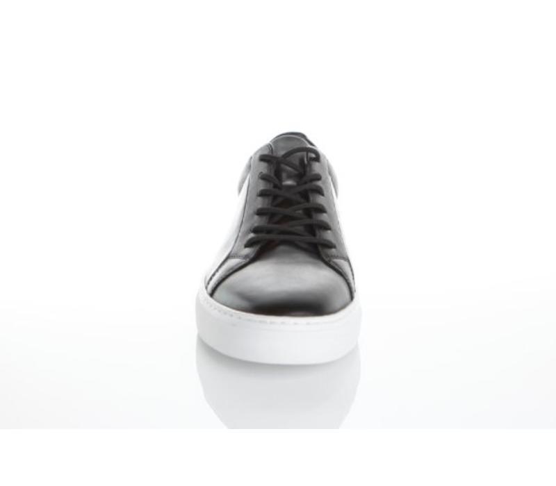 Paul Black Leather Sneaker