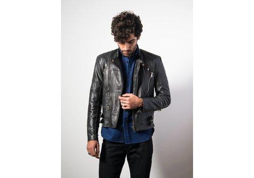 Deadwood Mens Ryder Jacket Black Leather
