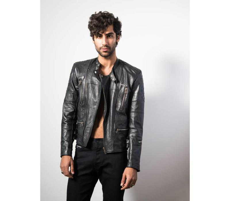 Mens Ryder Jacket Black Leather