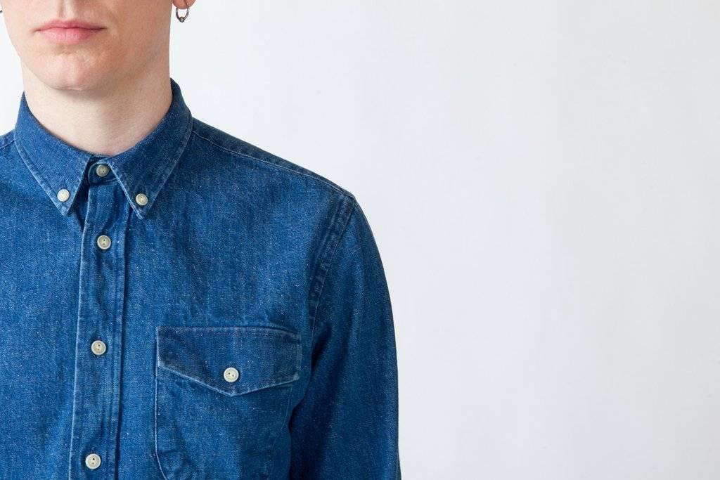 Livid Jeans Ragnar Japan Blue Vintage Shirt