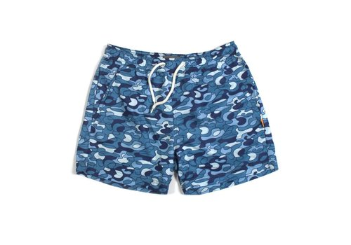 A Field Swim Shorts Pool Camo