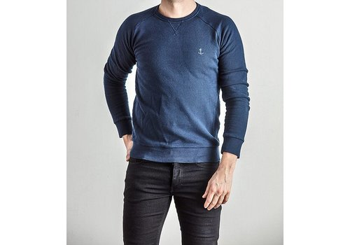 The Blue Uniform Embo Sweaters Navy