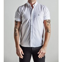 Herrman Short Sleeved Shirt White