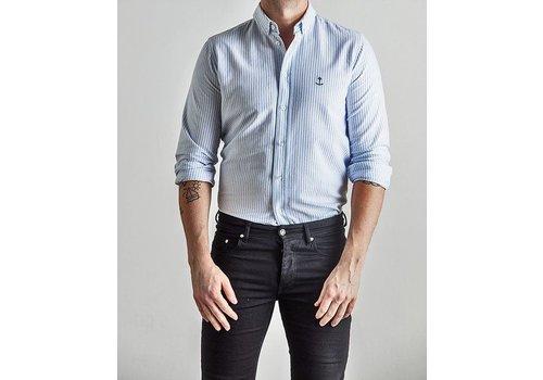 The Blue Uniform Herrman Oxford Shirt Striped