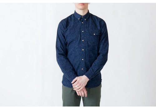 Livid Jeans Ragnar Japan Blue Chatter Shirt