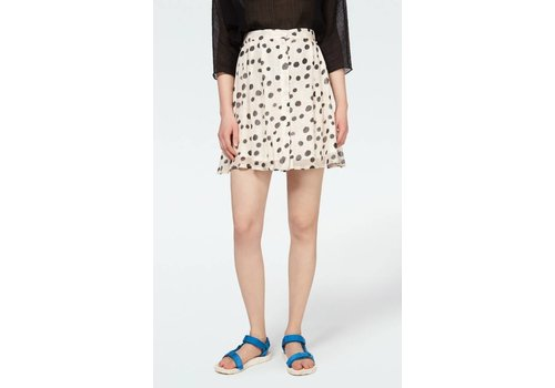 American Vintage Peonyland Dotted Line Skirt