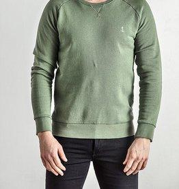 The Blue Uniform Embo Sweat Green