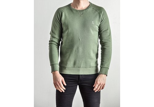 The Blue Uniform Embo Sweat Green