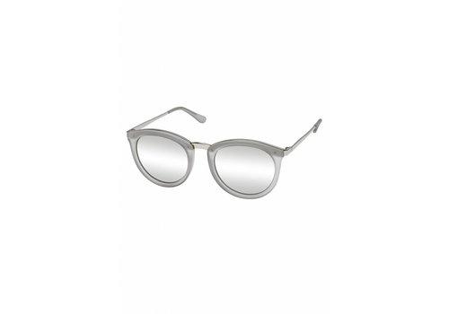 Le Specs No Smirking Ash Rubber Silver Mirror