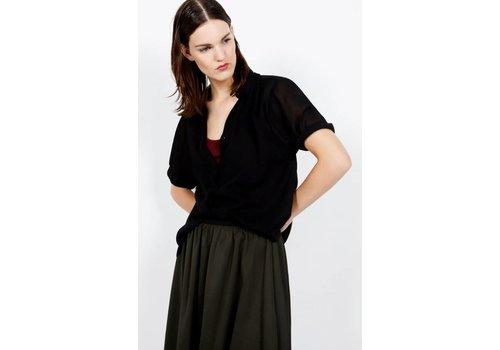 American Vintage Axobridge Black Shirt