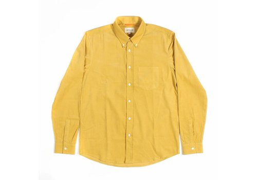 A Field Field Shirt Yellow Corduroy