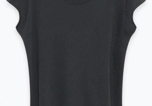 American Vintage Bomipark T-shirt Vintage Carbone Black