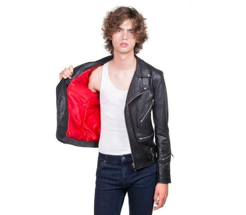 Vinnie Jacket Black Leather
