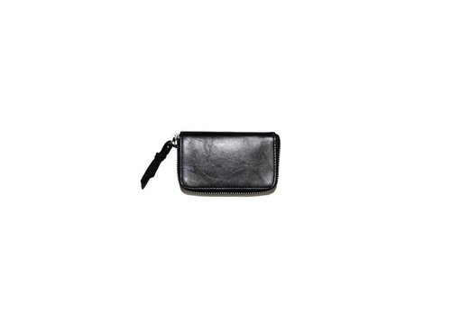 Deadwood Wim Wallet Black Recycled Leather