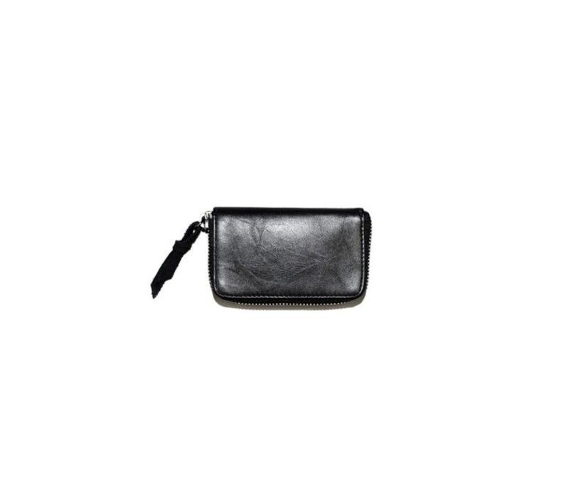 Wim Wallet Black Recycled Leather