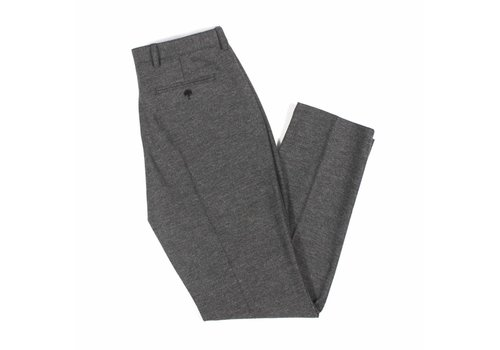 A Field Tricker Trouser Herringbone Grey