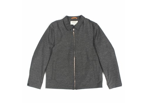 A Field Ortler Herringbone Jacket Grey