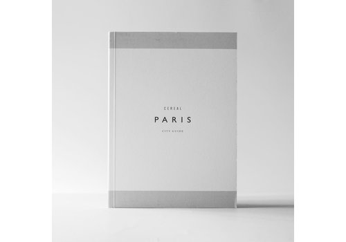 Cereal Magazine City Guide Paris