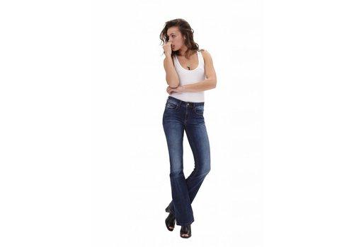 Lois Jeans Melrose Celine Dark Blue Flare L34