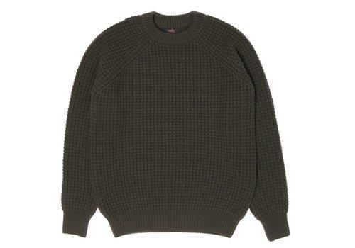 Human Scales Hank Moss Green Knitwear