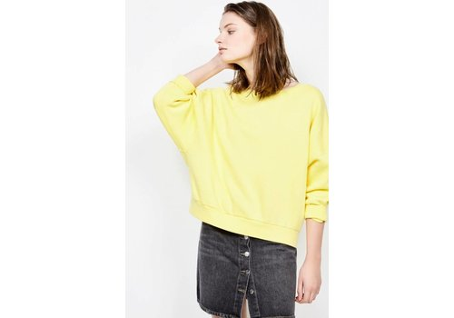 American Vintage Kinibay Sweater Summer Yellow