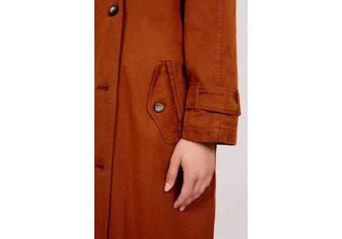 American Vintage Derinaroad Trenchcoat Vintage Orange